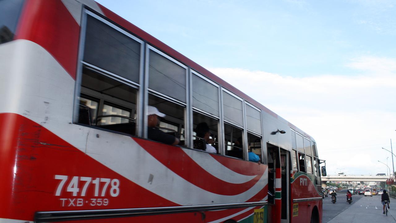 マニラのバス