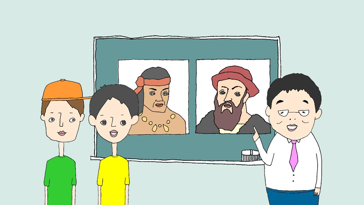 ゆげ塾でフィリピンの歴史を学ぶ
