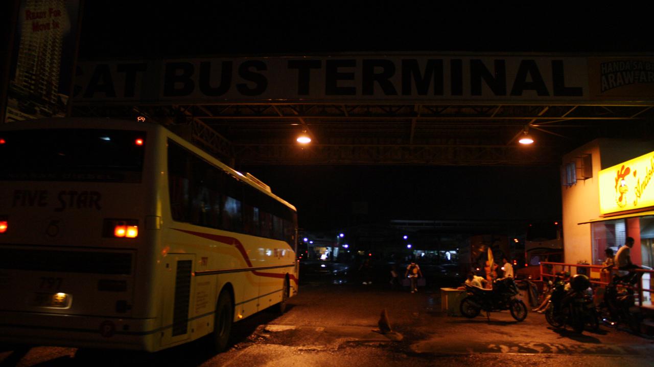 アンヘレスのバス停と言えばダウステーション