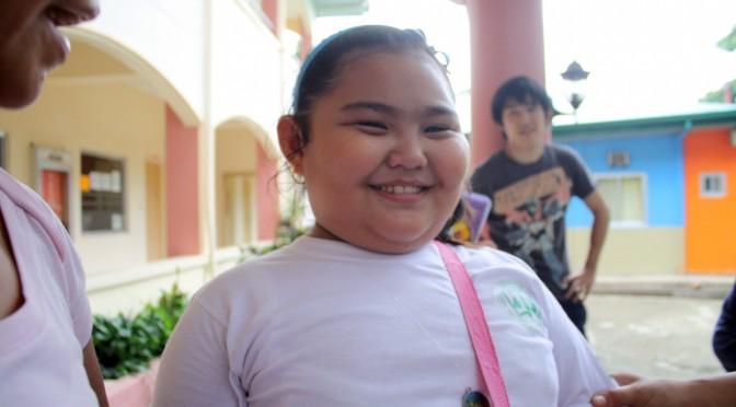 なぜかよく出会ったフィリピン人の太った子供