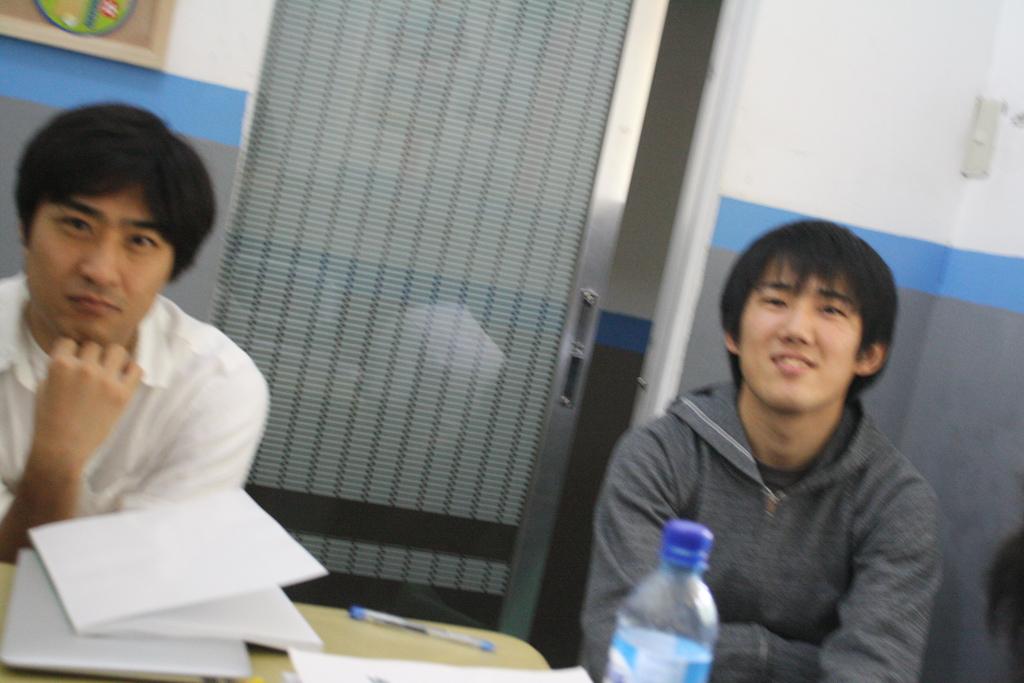 CNE1のディスカッションクラスのプレゼン授業